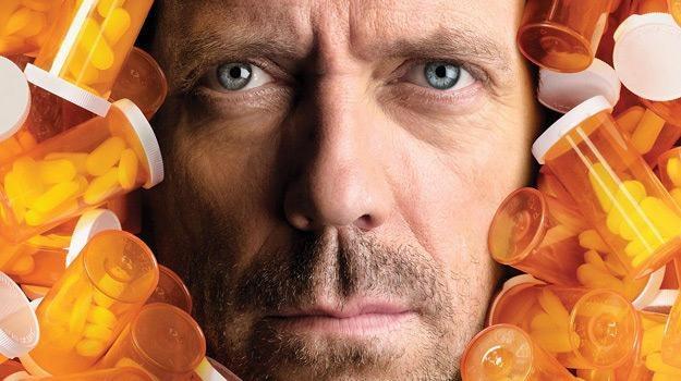 Genialnego diagnostę Gregory'ego House'a rewelacyjnie gra Hugh Laurie /materiały prasowe
