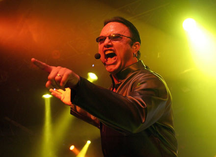 Geoff Tate (Queensryche) - fot. Donald Bowers /Getty Images/Flash Press Media