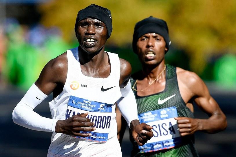 Geoffrey Kamworor /AFP