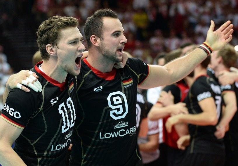Georg Grozer (z prawej) i Lukas Kampa /AFP