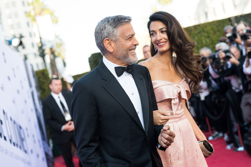 Georg i Amal Clooney /Getty Images