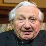 Georg Ratzinger dla RMF FM: Nie daję szans kardynałom z Niemiec