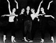 George Balanchine podczas próby /Encyklopedia Internautica