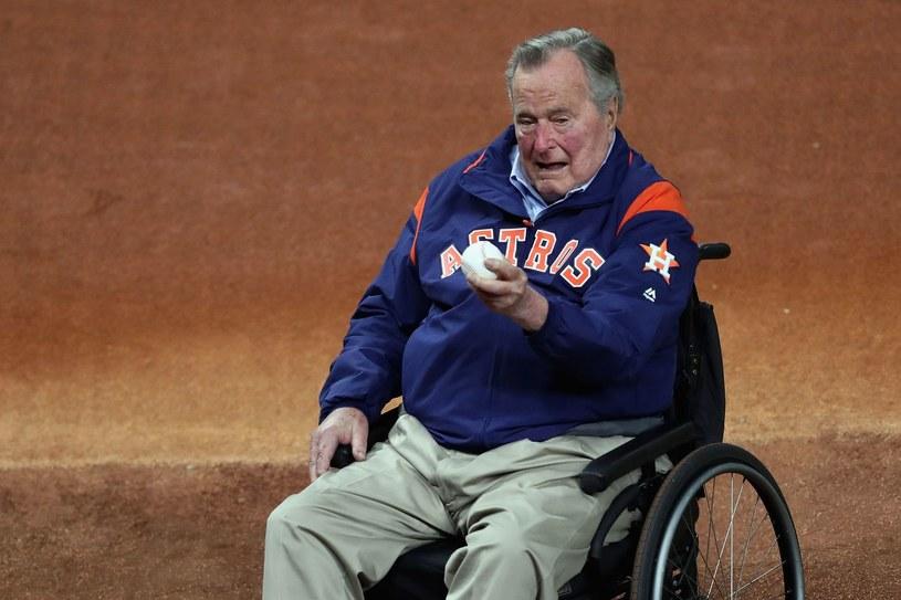 George Bush senior /Tom Pennington /AFP