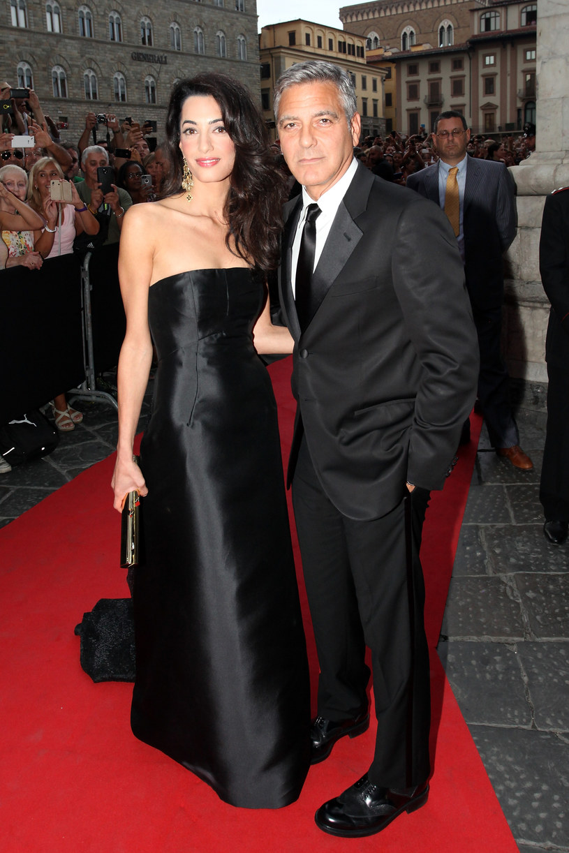 George Clooney i Amal Alamuddin /Andrew Goodman /Getty Images
