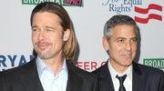George Clooney i Brad Pitt są ze sobą skłóceni?