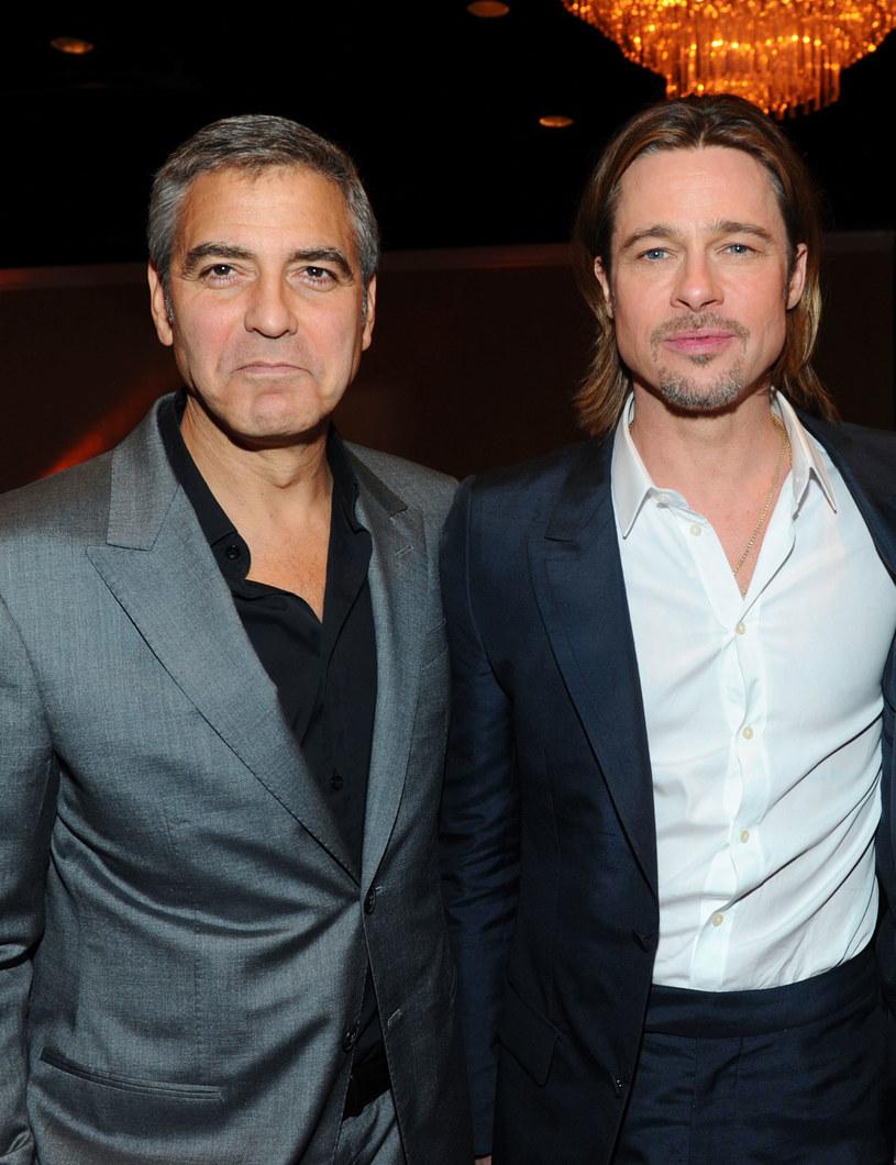George Clooney i Brad Pitt /Alberto E. Rodriguez /Getty Images