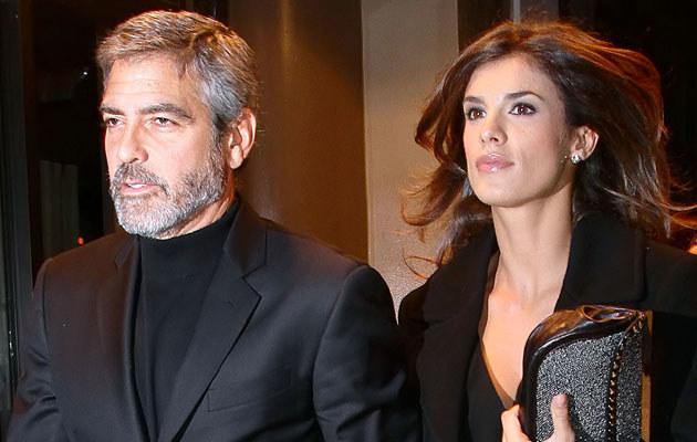 George Clooney i Elisabetta Canalis  /Splashnews