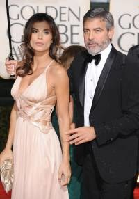 George Clooney i Elizabetta Canalis, fot. Frazer Harrison   /Getty Images/Flash Press Media