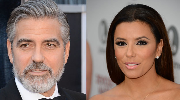 George Clooney i Eva Longoria /Getty Images