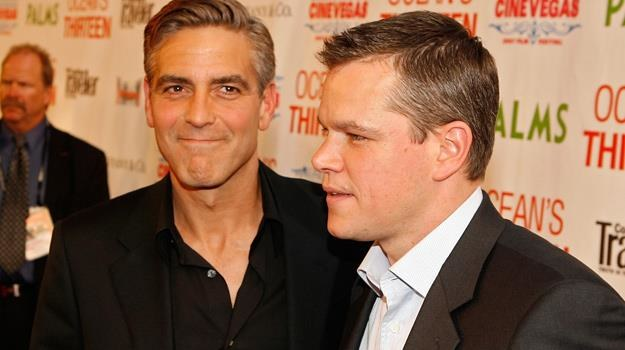 George Clooney i Matt Damon lubią razem pracować... / fot. Kevin Winter /Getty Images/Flash Press Media