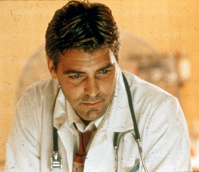 George Clooney jako doktor Doug Ross /Mary Evans Picture Library /East News