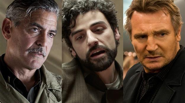 George Clooney odzyskuje dzieła sztuki, Oscar Isaac śpiewa i gra, a Liam Neeson jak zawsze strzela /materiały prasowe