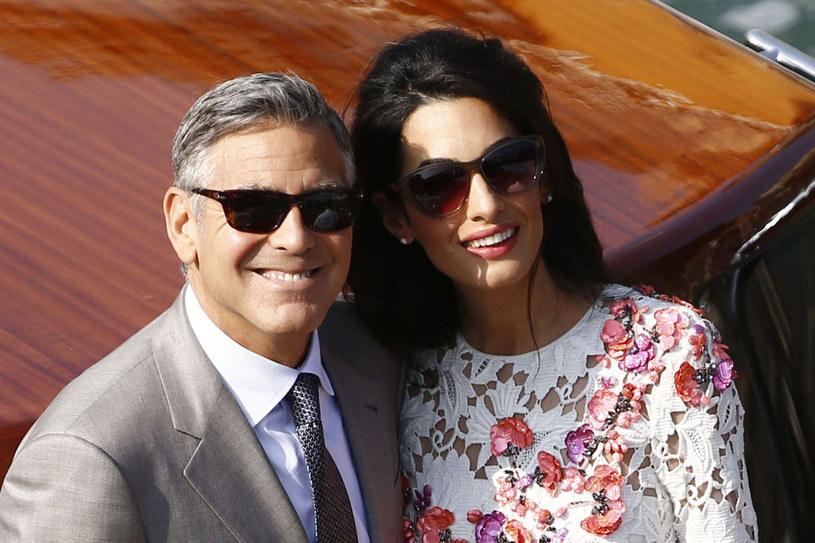 George Clooney po rozwodzie z pierwszą żoną mówił w wywiadach, że nigdy więcej się nie ożeni. A jednak zmienił zdanie /AFP