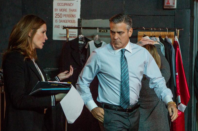 George Clooney ponownie spotkał się na planie z Julią Roberts. Prywatnie aktorzy są bliskimi przyjaciółmi /materiały dystrybutora