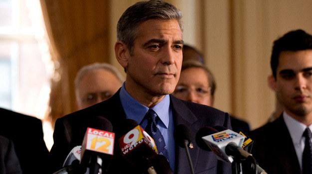 """George Clooney w scenie z filmu """"Idy marcowe"""" /materiały dystrybutora"""