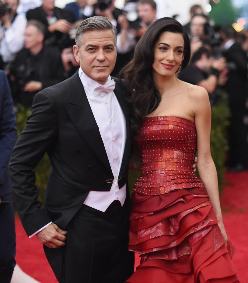 George Clooney z żoną /Mike Coppola /Getty Images