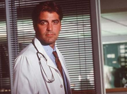 """George Clooney zaczynał karierę w """"Ostrym dyżurze"""" /Getty Images/Flash Press Media"""
