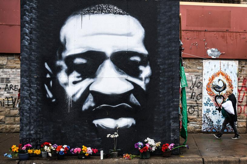 George Floyd zmarł podczas zatrzymania przez policję. Jego śmierć wywołała falę protestów w USA /Chandan Khanna /AFP