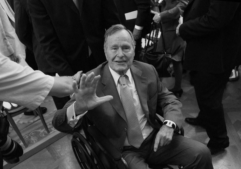 George H.W. Bush miał 94 lata /AFP