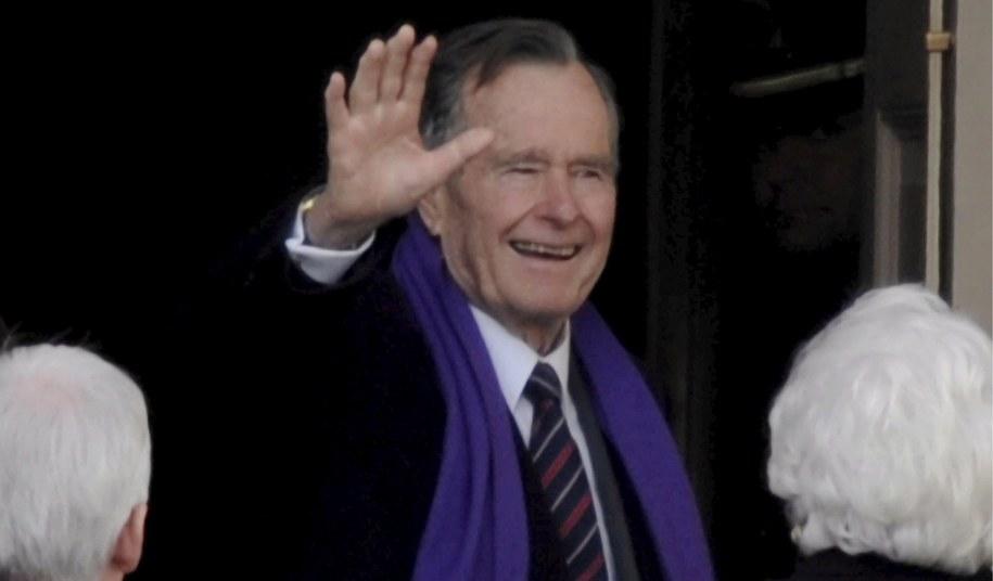 George H. W. Bush /TANNEN MAURY  /PAP/EPA
