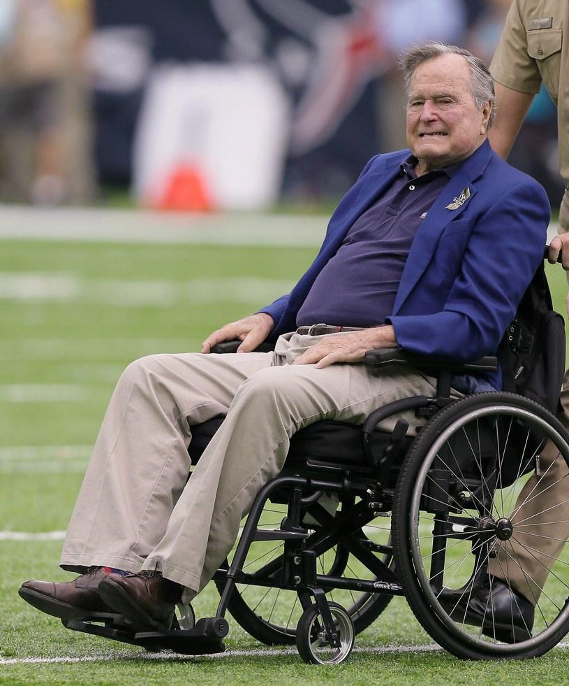 George H.W. Bush /AFP