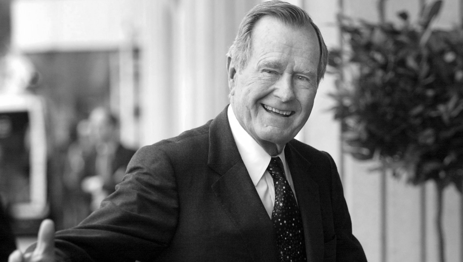 George H. W. Bush /KIMMO MÄNTYLÄ /PAP/EPA