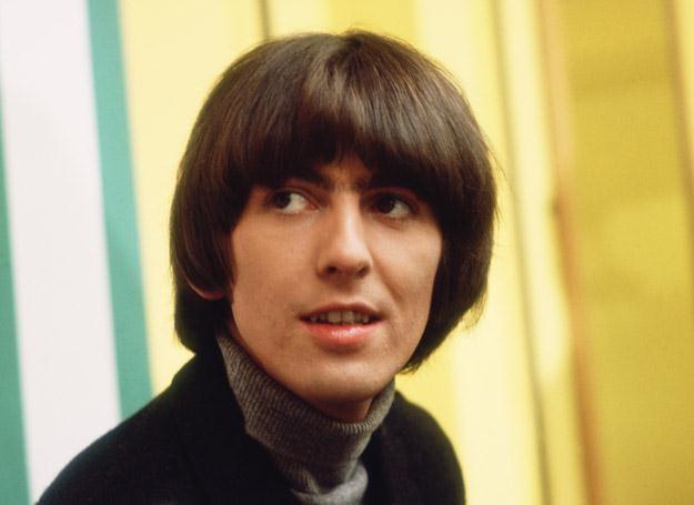 George Harrison w połowie lat 60. - fot. Keystone/Hulton Archive /Getty Images/Flash Press Media