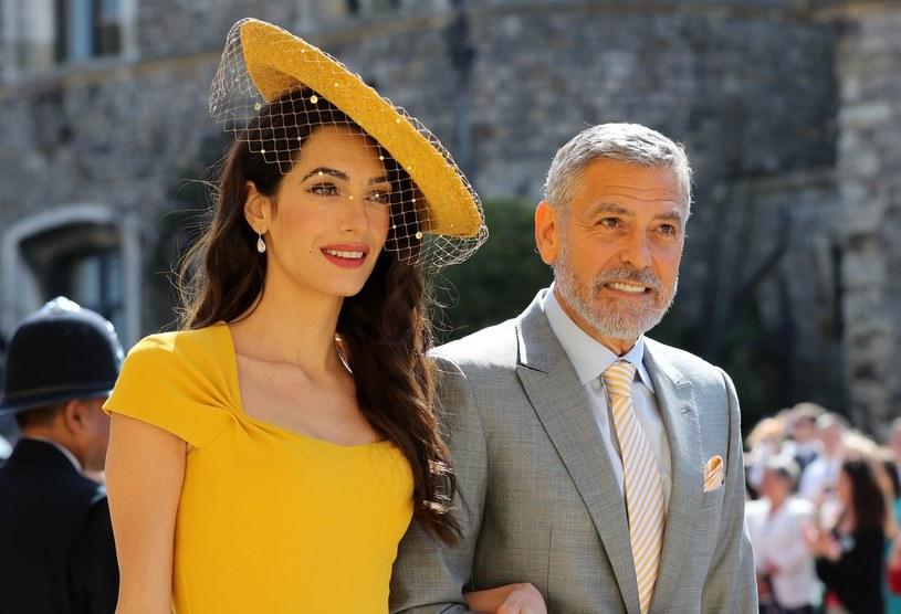 George i Amal Clooney /East News