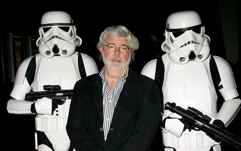 George Lucas i szturmowcy /David Livingston /Getty Images
