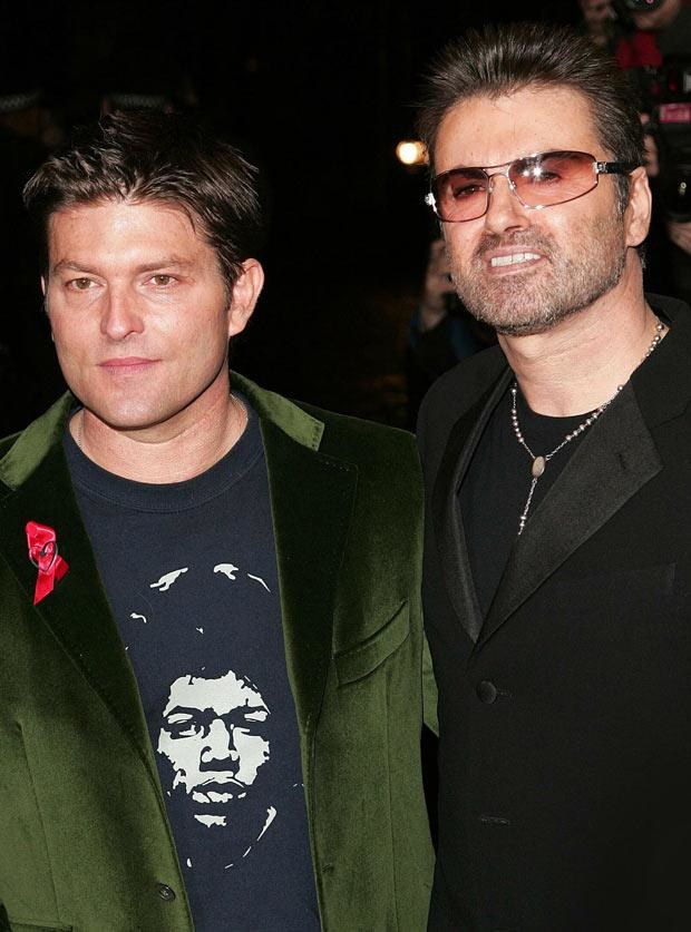 George Michael i Kenny Goss   /Splashnews