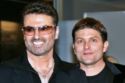 George Michael i Kenny Goss /arch. AFP
