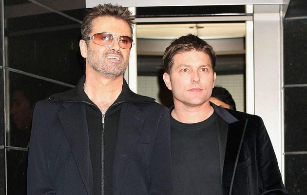 George Michael z byłym partnerem, fot. Junko Kimura  /Getty Images/Flash Press Media