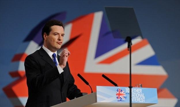 George Osborne, brytyjski kanclerz skarbu /AFP