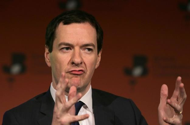"""George Osborne, przyszły naczelny """"Evening Standard"""" /AFP"""