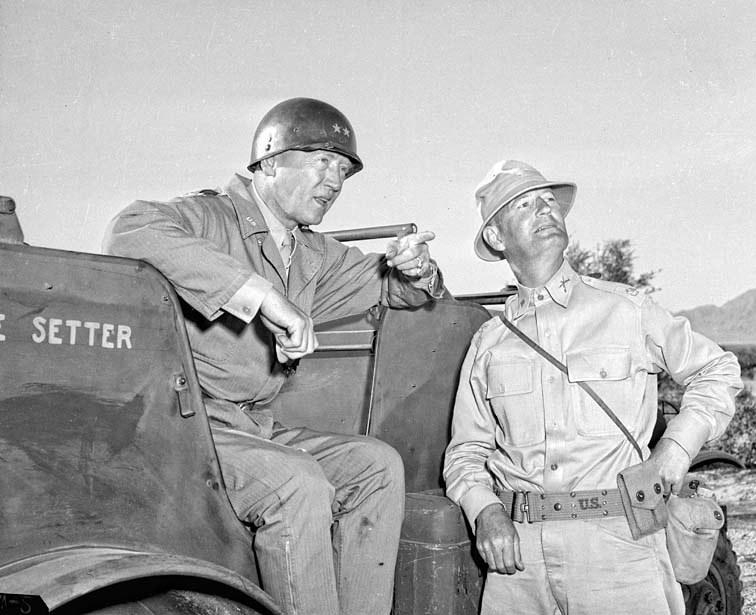 George S. Patton w Afryce Północnej /INTERIA.PL/materiały prasowe