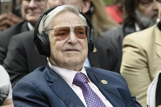 George Soros /Clemens Bilan /PAP/EPA
