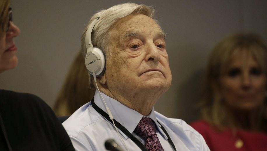 George Soros /PETER FOLEY / POOL /PAP/EPA