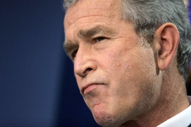 George W. Bush poczuł się dotknięty słowami Kanye Westa /arch. AFP