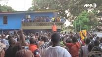 George Weah, była gwiazda futbolu, prezydentem Liberii
