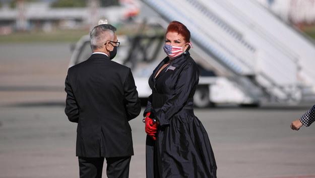 Georgette Mosbacher / Leszek Szymański    /PAP