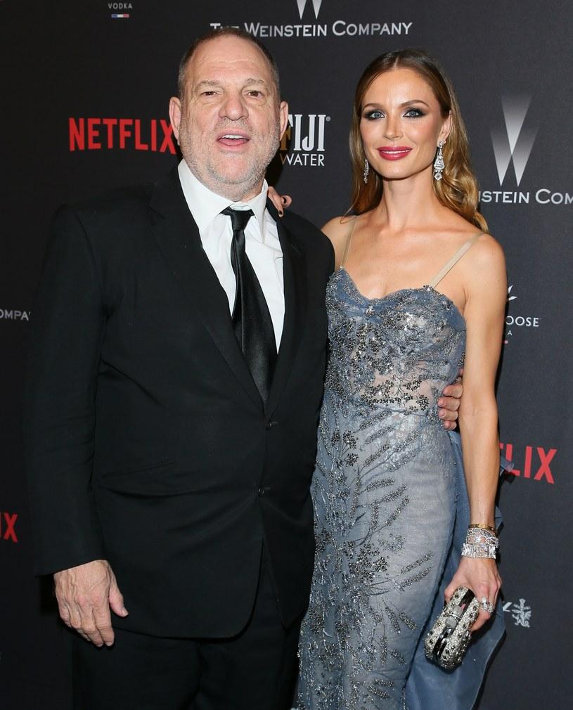 Georgina Chapman i Harvey Weinstein /JB Lacroix / Contributor /Getty Images