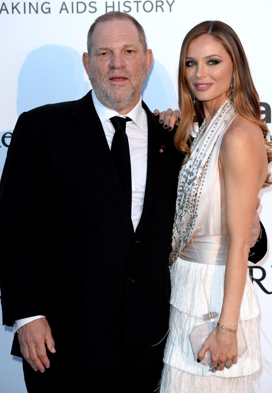 Georgina Chapman i Harvey Weinstein /Anthony Harvey / Contributor /Getty Images