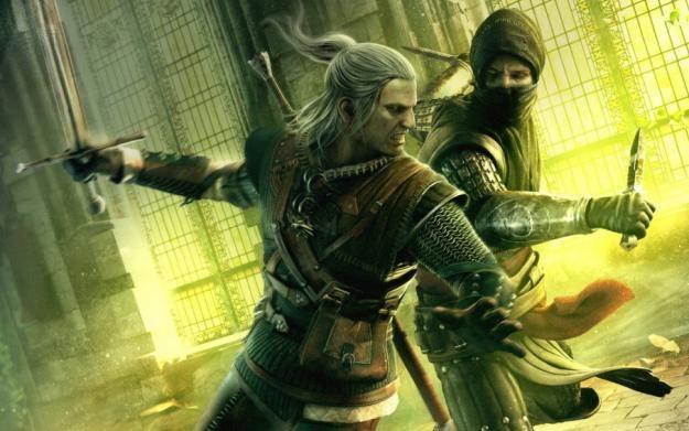 Geralt i jego świta zapraszają na konkurs /Informacja prasowa