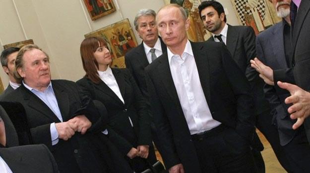 Gerard Depardieu będzie mógł częściej spotykać się z Władimirem Putinem /East News