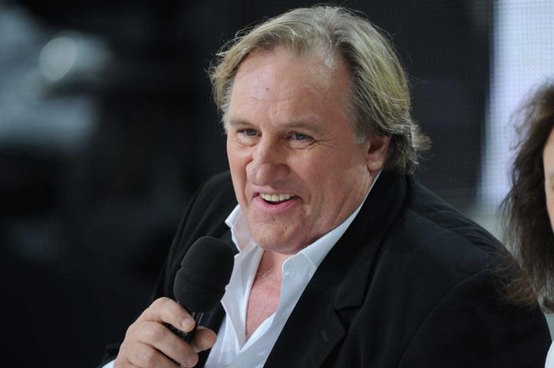Gerard Depardieu /Domine-Wyters    /PAP/EPA