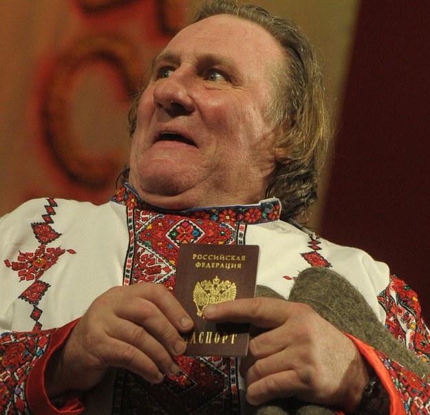 Gerard Depardieu /PAP/ITAR-TASS/Stanislav Krasilnikov /PAP/EPA