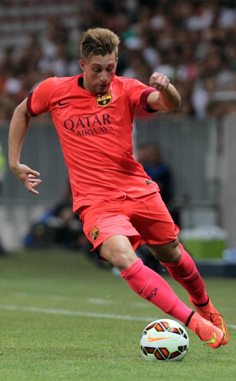 Gerard Deulofeu w barwach Barcelony /AFP