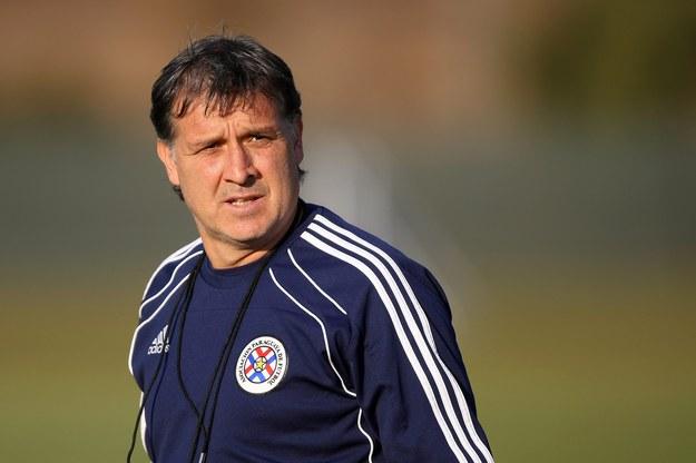 Gerardo Martino do tej pory był trenerem Newell's Old Boys /Halden Krog /PAP/EPA