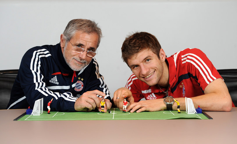 Gerd Mueller i Thomas Mueller. Jedno nazwisko łączy dwie epoki Bayernu Monachium /Pressefoto Ulmer\ullstein bild /Getty Images